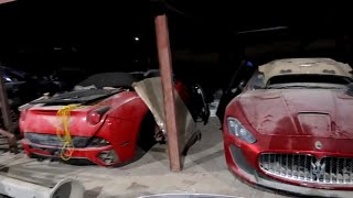 ABANDONED CARS IN DUBAI-TRILLIONAIRE