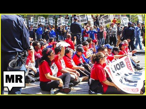 Labor Strikes Happening Across The USA