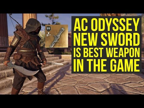 Assassin's Creed Odyssey Best Weapons NEW Prince Of Persia Sword Is Amazing (AC Odyssey Best Weapons