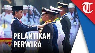 Lantik Perwira TNI-Polri, Presiden Jokowi: Prajurit Harus Ikuti Perkembangan Zaman
