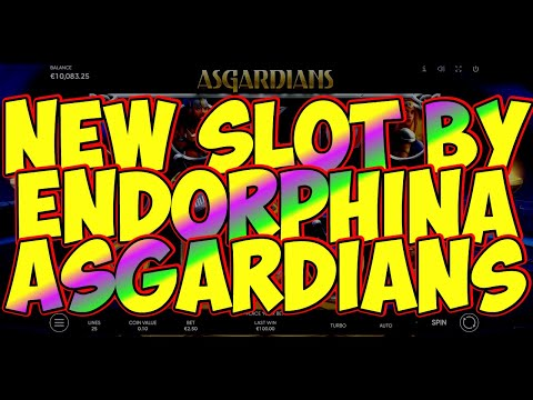 🎰Asgardians slot NEW🎰by Endorphina🎰overview🎰