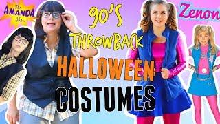DIY 90S Throwback Halloween Costumes! Halloween Costumes For Girls 2017!