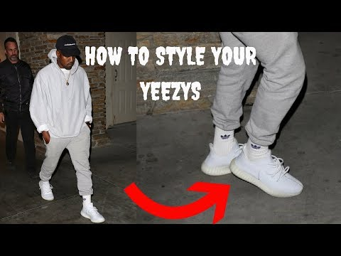 How to lace your Yeezys like Kanye