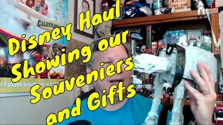 Disney Haul- Unboxing & Showing Our Souvenirs And Gifts - Confessions Of A Theme Park Worker