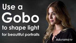 Use a Gobo to Shape Light for Portraits: Exploring Photography with Mark Wallace