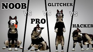 Noob vs Pro vs Glitcher vs Hacker - WildCraft