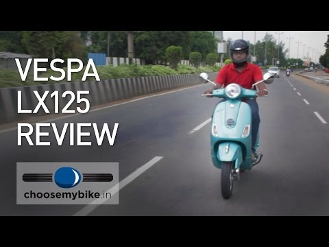 Vespa LX125 : ChooseMyBike.in Review
