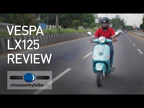 Vespa LX125 : ChooseMyBike.in Review