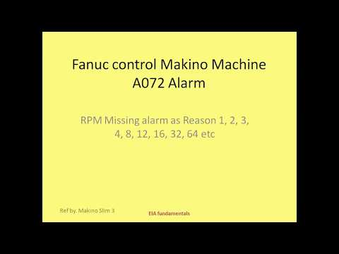 Fanuc Power Supply Module Alarm AL-01 and Spindle Module