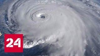"""Разметавший восток США ураган """"Флоренс"""" угрожает России - Россия 24"""