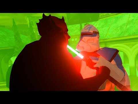 CAPTAIN REX FIGHTS DARTH MAUL - Blade And Sorcery Mod VR (Star Wars)