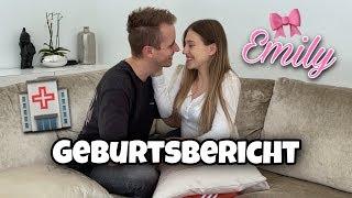 GEBURTSBERICHT - Unsere Tochter Emily ist da 👶🏼🎀 | Bibi
