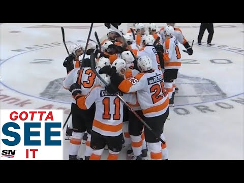 GOTTA SEE IT: Flyers' Ivan Provorov Nets Double OT Winner Against Islanders In Game 6