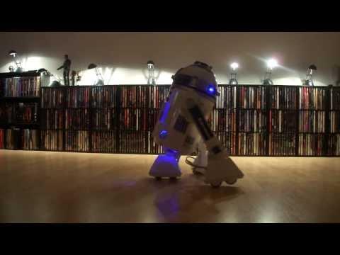 R2D2 Beamer Projektor Nikko Star Wars DVD Player