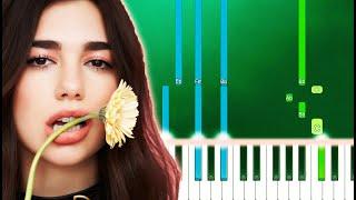 Dua Lipa - Pretty Please (Piano Tutorial Easy)