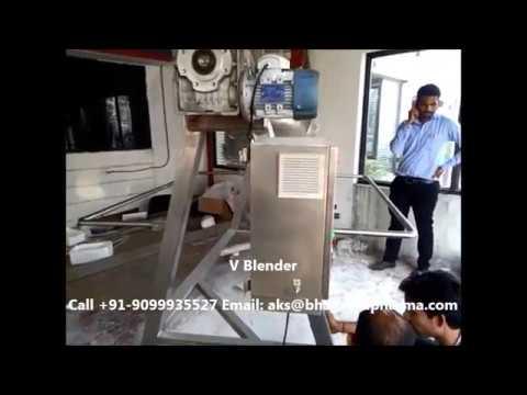 V Blenders - Blending Powders and Granules