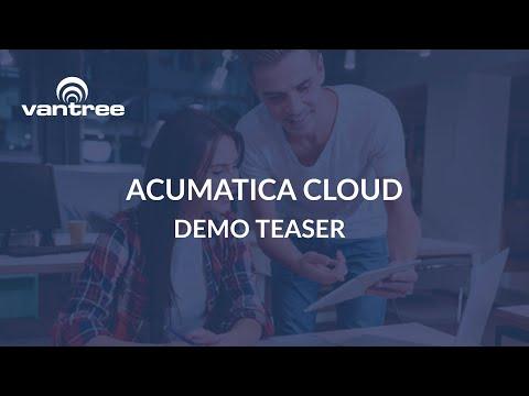 Vantree EDI & API Automation for Acumatica Cloud video