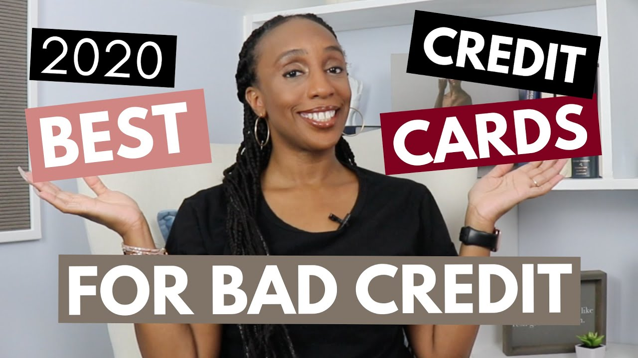 Finest Credit Cards for Bad Credit 2020 thumbnail