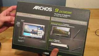Archos 9 Tablet Unboxing and Overview