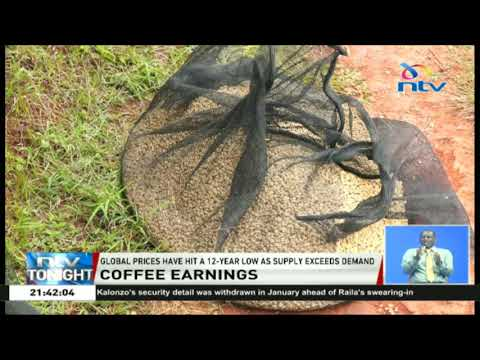 Coffee farmers made Ksh. 811M in first month of the 2018/19 season