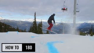 How To 180 On Skis