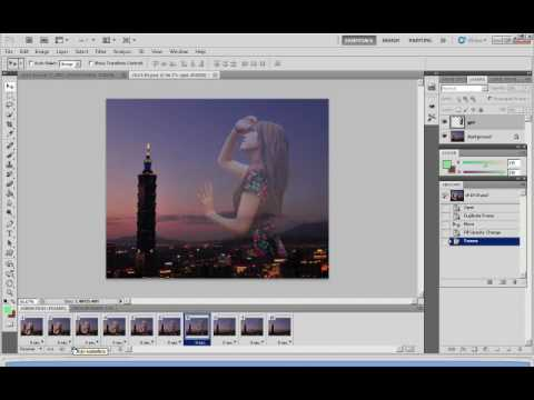 Adobe Photoshop CS5 - Tween Animation