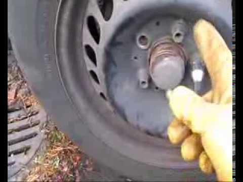 Αλλαγή λάστιχου αυτοκίνητου