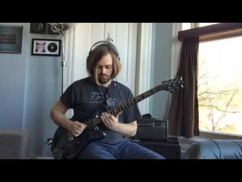 "Me playing the solo to ""Of Wolf And Man"" by Metallica."