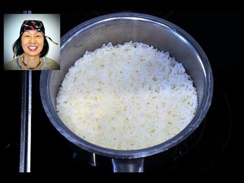 Reis im Edelstahltopf kochen ohne anzubrennen