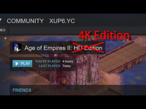 Steam Community :: Guide :: [Tutorial] 4K support for AOE2 [MOD]