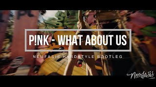 Pink   What About Us (Nemfasis Hardstyle Remix)
