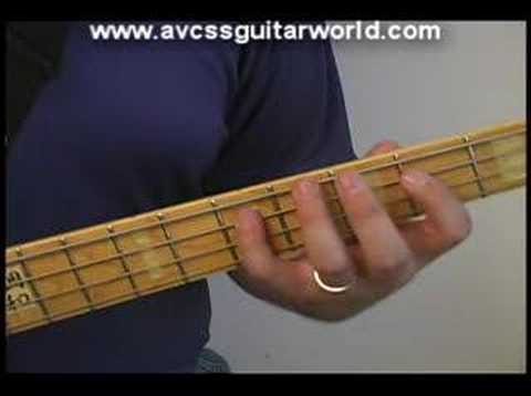 Bass Guitar Lessons - Simple Walk in