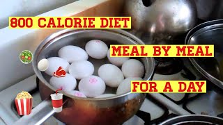 My 800 Calorie Diet Meal By Meal For A Day