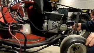 vtwin racing mower build 13 - hmong video