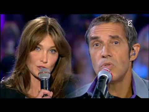Duo Carla Bruni et Julien Clerc - Déranger les pierres