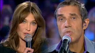 Duo Carla Bruni Et Julien Clerc   Déranger Les Pierres