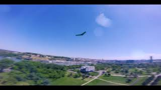 FPV wing chase/freestyle