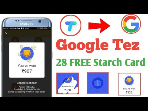 Google Pay (Tez) 28 Scratch Card Free || Google Pay Tez New