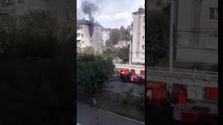 Пожар в Чебоксарах
