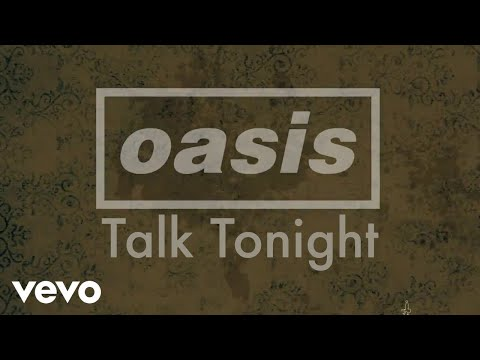 Talk Tonight Lyric Video