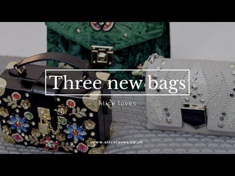 Designer Bag Reveal