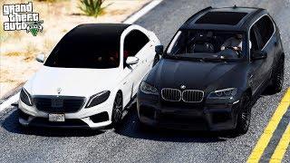 РЕАЛЬНАЯ ЖИЗНЬ В GTA 5 - НАС РАССТРЕЛЯЛИ ИЗ ДВУХ ЧЕРНЫХ BMW X5M! МАШИНАМ ПРИШЕЛ КОНЕЦ! 🌊ВОТЕР