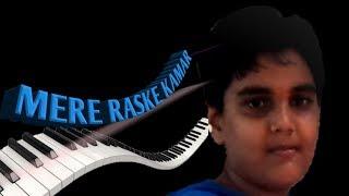 Mere Rashke qamar beginner 's keyboard.