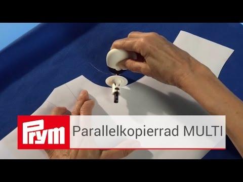 Parallelkopierrad MULTI von Prym | Kreiderad mit optionalem Beiwagen