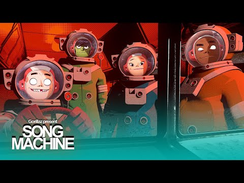 Gorillaz, Robert Smith - Song Machine: Strange Timez (feat. Robert Smith) (2020)