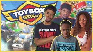 CAR CHAOS AND DESTRUCTION!! - Family Beatdown I ToyBox Turbos Xbox360 Gameplay