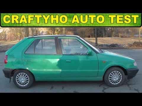 Craftyho auto test ♦ Felcedes ▶ Škoda Felicia 1,3 BMM