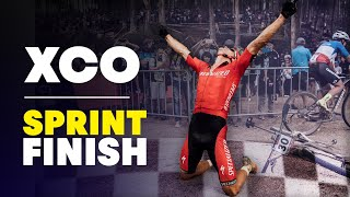 Sam Gaze's intense sprint finish at UCI MTB XCO World Cup 2018 South Africa
