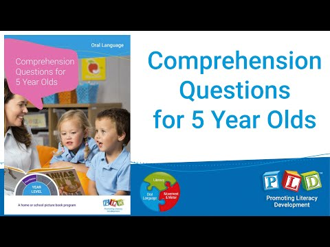 5 Year Old Comprehension Questions Progress Check
