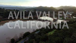 Flight Over Flooded Avila Valley [shot on a DJI Phantom Pro]